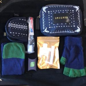 Travel pouch with essentials by Hayward